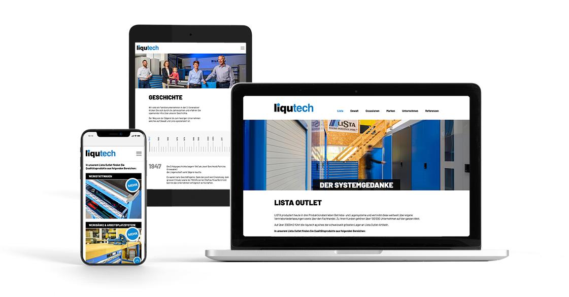 liqutech webdesign