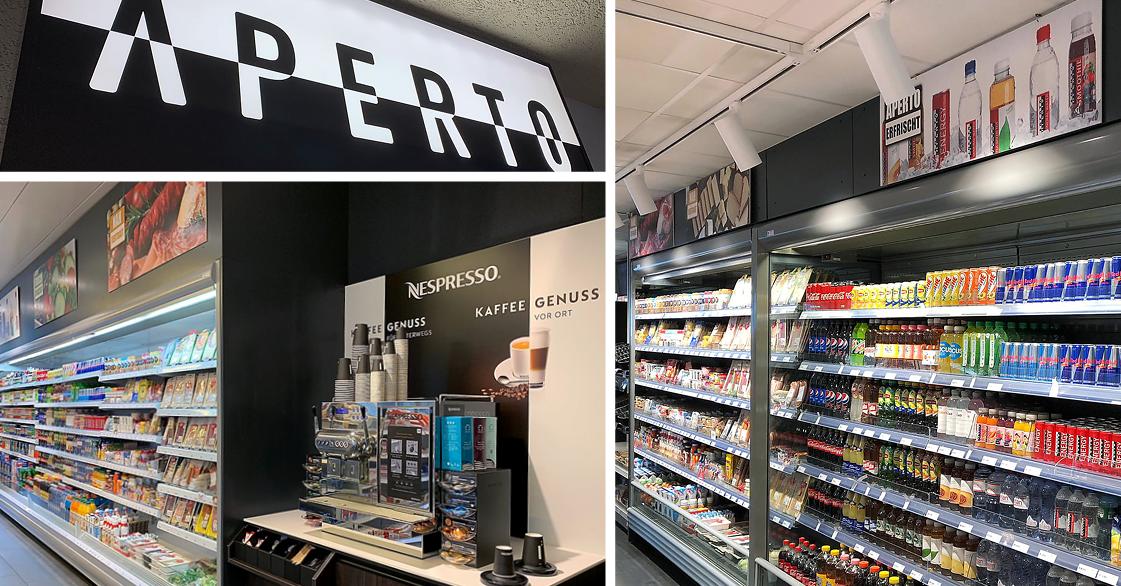 7 neue aperto shops