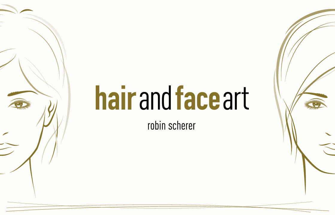 hair and face art keyvisual