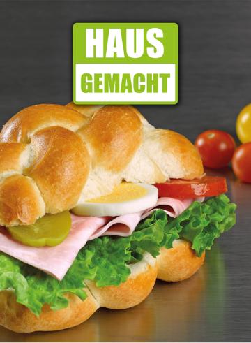 plakat sandwich